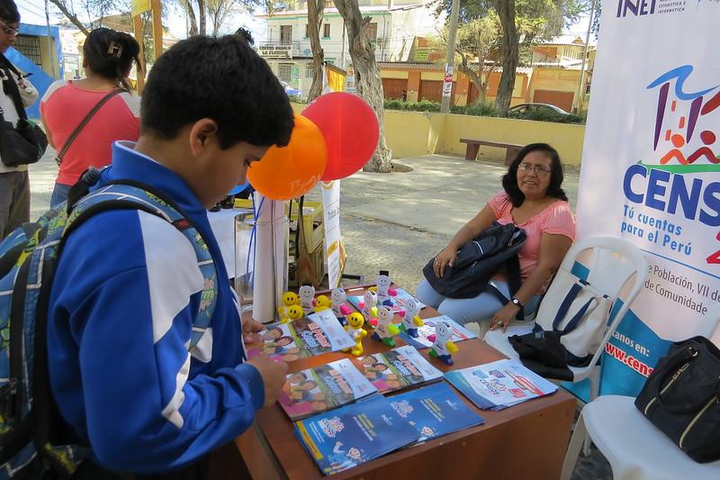 Feria Artesanal organizada por la División de Turismo de la Municipalidad de Piura