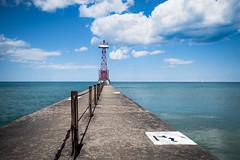 Pier (CarusoPhoto) Tags: john caruso carusophoto chicago lake front sky cloud clouds pentax ks2 lakefront
