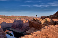 Horseshoe Bend - Color Version (W_von_S) Tags: coloradoriver horseshoebend arizona usa us america amerika southwest südwesten wvons werner panorama felsen rocks landschaft landscape paysage paesaggio natur nature outdoor page color june juni 2017