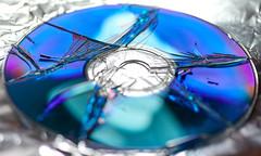 Macro Mondays Broken (rondoudou87) Tags: macromondays broken pentax k1 macro bokeh color couleur close closer bleu blue cd compactdisc light lumière smcpdfa100mmf28 hmm