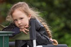 Характер (Sergey_Fotogray) Tags: nature summer girl child