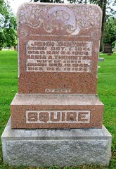 Squire, John  1841 - 1906 (Hear and Their) Tags: grave marker stone gravestone tomb tombstone greenhill cemetery kingsville fraternal masonic oddfellow