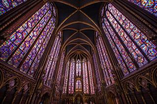 Saint Chapel - Paris - 2
