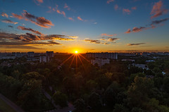 Lublino Sunset (gubanov77) Tags: landscape skyline nature sky sunset city lublino moscow russia outdoor urban cityscape