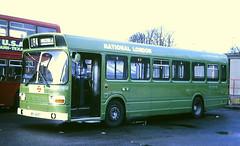 Slide 098-68 (Steve Guess) Tags: london country leyland national p4 snb lcbs lt lewisham england gb uk bus green bpl476t snb476