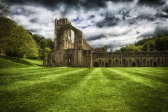 Fountains Abbey (Trev Bowling) Tags: fountainsabbey studley royal cistercian