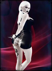 Bound Box 7-12-17 (IsaLapis) Tags: boundbox secondlife sl vampire vampyre booty butt sexy female strapped straps