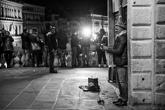 Flashing Musician (Nick Koehler Photography) Tags: rome venice florence travel travelphotography streetphotography street explore adventure siena photography passion people landscape cityscape city citylife