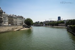 Turns of the River Seine (eutouring) Tags: paris france riverseine river seine view island