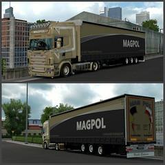 Scania Magpol ([johannes]) Tags: ets2 euro truck simulator tuning trailer topline trans transport trucks transit besser express rjl scania super skin stiholt style pmi lkw lastkraftwagen look low pl magpol vabis v8 wielton