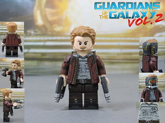 Custom LEGO Guardians of the Galaxy Vol 2: Star-Lord (Will HR) Tags: lego marvel custom