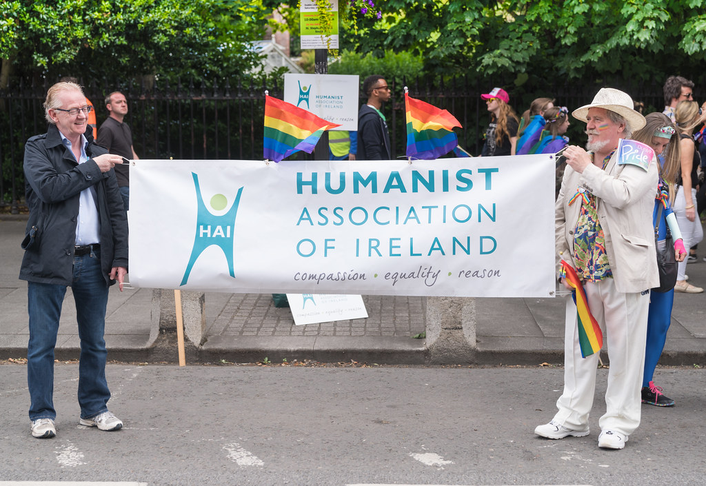LGBTQ+ PRIDE PARADE 2017 [STEPHENS GREEN BEFORE THE ACTUAL PARADE]-129765