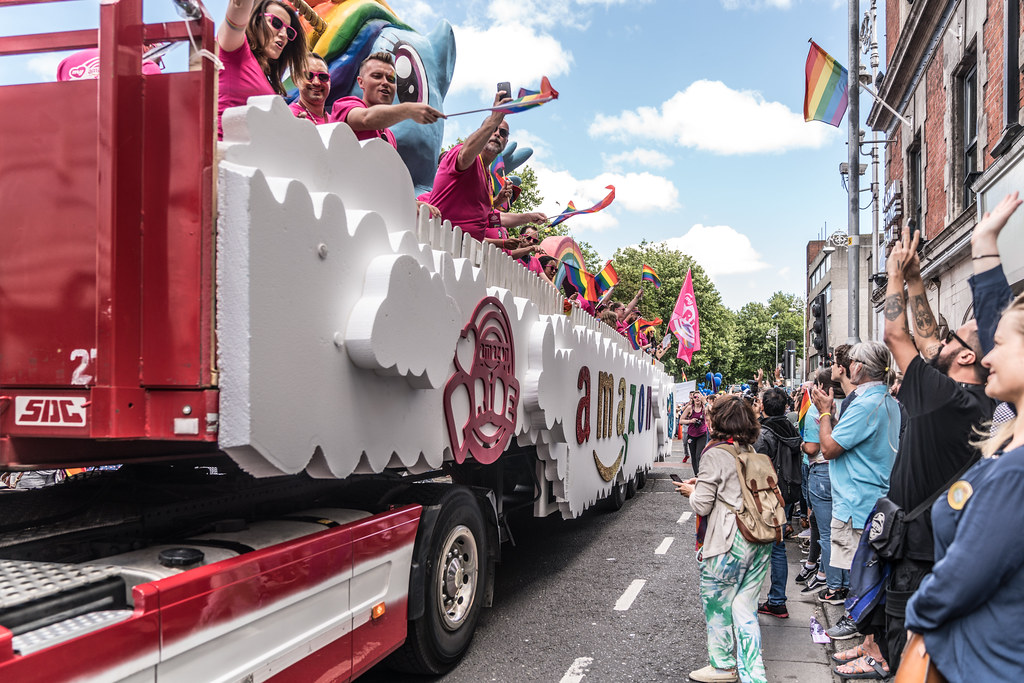 LGBTQ+ PRIDE PARADE 2017 [ON THE WAY FROM STEPHENS GREEN TO SMITHFIELD]-130094