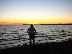 Atardecer, en el pacifico !! (Gabriel mdp) Tags: atardecer sur puerto montt contrastes mar paisaje landscape oceano pacifico pelluco