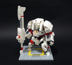 sd beta lancer04 (chubbybots) Tags: lego mech messymaru