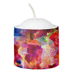 Cute colorful abstract painting Candle (Forart Gift) Tags: cute colorful abstract painting candle bougie vela kerze キャンドル kaars candela lys stearinlys ljus
