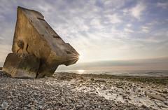 Bunker n°2 [FR] (ta92310) Tags: 2017 normandie europe france travel normandy wide falaises cliff spring printemps quiberville 76 seinemaritime sunset longexposure nd8 canon 6d bunker