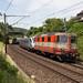 SBB Re 420 109 mit dem BAC1 des ETR 470 009 bei Sissach