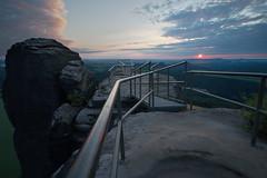 Sunset at the Lilienstein - HFF! :-) (Stefan Zwi.) Tags: hff lilienstein sunset sonnenuntergang abend evening blauestunde sächsischeschweiz tags hinzufügen elbe landscape landschaft saxonswitzerland saxony