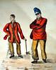 Bagnards du bagne de Toulon (O.Blaise) Tags: toulon art peinture tableau painting port military militaire convict bagne prison