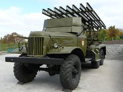 "BM-13 on ZiL-157 1 • <a style=""font-size:0.8em;"" href=""http://www.flickr.com/photos/81723459@N04/35603335125/"" target=""_blank"">View on Flickr</a>"