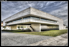 Viana do Castelo (Portugal) (jemonbe) Tags: vianadocastelo jemonbe álvarosizavieira biblioteca lima