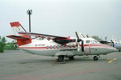 RA-67402 LET L-410UVP Turbolet Aeroflot (pslg05896) Tags: bka uubb moscow bykovo ra67402 let l410 turbolet aeroflot