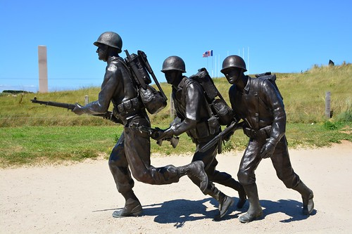 Utah Beach landing site at La Madeleine (Normandie, France 2017)