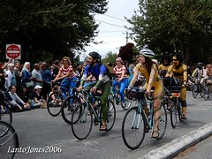 DSCN2039 (IantoJones2006) Tags: fremont solstice cyclists 2017 naked bike seattle parade nude painted body paint bicycle