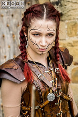 IMG_9484.jpg (Neil Keogh Photography) Tags: silver whitbygothweekend steampunk sword shoulderguards viking brown steampunkdress armguards red warrior goth armour blouse whitby top female woman whitbygothicweekendapril2017 facepaint black gothic trousers leather waistcoat white