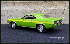 1970 Plymouth 'Cuda 440-6 Hardtop Coupe (JCarnutz) Tags: 124scale diecast danburymint 1970 plymouth cuda
