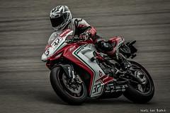 MV Agusta going fast! (-+Niels+-) Tags: mvagustasf3675 fast racemotor motorcycle italian ttassen raceday motorbike