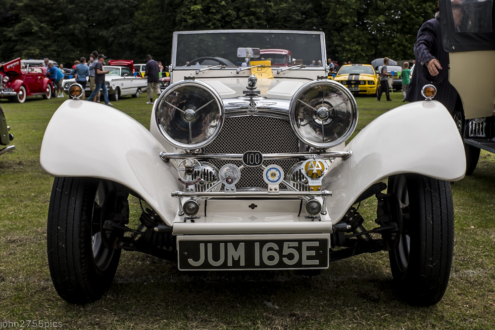 Thornes Park Wakefield Classic Car Show