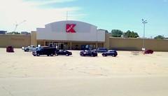 Menominee Kmart - still open! (Maenette1) Tags: kmart building parkinglot cars menominee uppermichigan flicker365