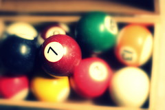 7 (Jackal1) Tags: seven 7 pool poolball blur dof game colours 50mm