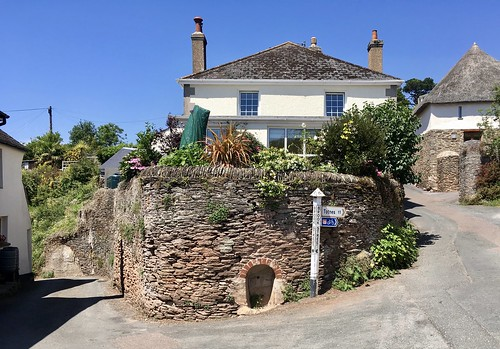 Narrow lanes in Slapton