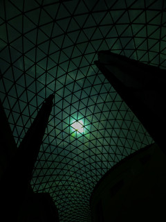 Inside the Great Dome at the British Museum