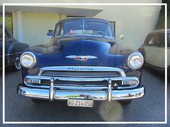 Chevrolet Deluxe, 1951 (v8dub) Tags: chevrolet deluxe 1951 chevy schweiz suisse switzerland bleienbach american gm pkw voiture car wagen worldcars auto automobile automotive old oldtimer oldcar klassik classic collector