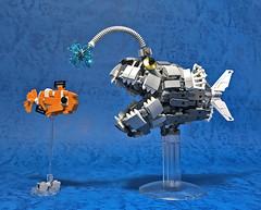 LEGO Mech Footballfish-10 (ToyForce 120) Tags: lego robot robots mecha mech mechanic legomech legomoc