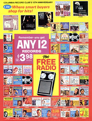 1970 Columbia Record Club's 15th Anniversary (Tom Simpson) Tags: columbiarecordclub recordclub 1970 1970s vintage ad ads advertising advertisement vintagead vintageads music