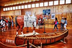 Saddle and Canoe (Albert Jafar) Tags: saddle canoe crazyhorsememorial nativeamericans blackhills southdakota museumandgallery photographerswharf ngc worldtrekker museum