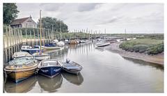 Morning at Blakeney Quay (Digital Wanderings) Tags: blakeney northnorfolk quay harbour boats