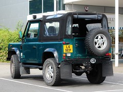L4 NEP (Nivek.Old.Gold) Tags: 1993 land rover defender 90 tdi sv softtop 2495cc