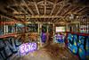 Murphy's Ranch (Manzurur Rahman Khan) Tags: losangeles murphysranch ruin abandoned hdr graffiti