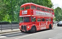 RM191 (stavioni) Tags: routemaster double decker red london transport bus brigits bakery tour afternoon tea aec rm rm191 191 park royal vlt191