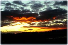 Sunset dramatisch (Karabelso) Tags: sunset clouds sky sonnenuntergang wolken himmel sony a33 evening abend