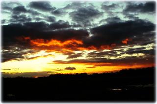 Sunset dramatisch