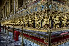 Garudas at Wat Pho Bangkok, Thailand (Anoop Negi) Tags: garudas wat pho bangkok thailand temple religious hindu buddhist religion f16 anoop negi ezee123 photo photography