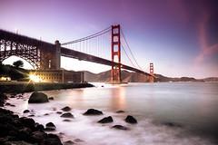 And In the Naked Light I Saw (Thomas Hawk) Tags: california goldengatebridge sanfrancisco usa unitedstates unitedstatesofamerica bridge sunset fav10 fav25 fav50 fav100