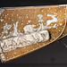 Ivory marquetry on ancient gunstock